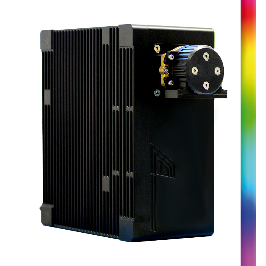 UV-VIS hyperspectral camera system